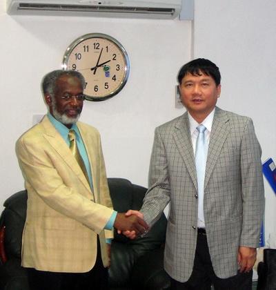 Bộ trưởng Ngoại giao Sudan tiếp Chủ tịch Petrovietnam