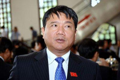 Ðinh La Thăng khi thôi chức chủ tịch PVN sang làm bộ trưởng Giao Thông-Vận Tải. (Hình: Getty Images)