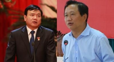 inh La Thăng và Trịnh Xuân Thanh. Ảnh cắt từ interne
