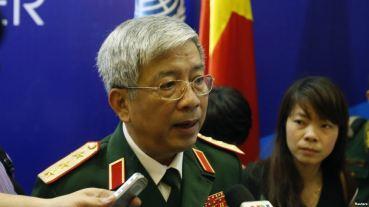 Thượng tướng Nguyễn Chí Vịnh, Thứ trưởng Bộ Quốc Phòng Việt Nam. Ảnh: Reuters.