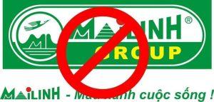 Logo tẩy chay Mai Linh xuất hiện trên mạng xã hội ngày 18-10-2016