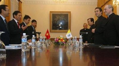 Khóa họp thứ 6 của Phái đoàn Tòa Thánh và Việt Nam. Ảnh: GP Đà Nẵng.
