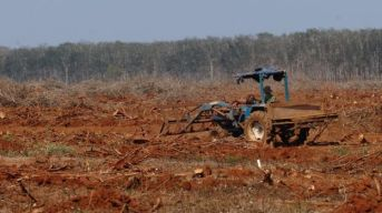 Tranh chấp đất đai ở Đắk Nông đã dẫn đến nhiều vụ xô xát giữa người dân và các công ty liên quan. Ảnh: Hoang Dinh Nam