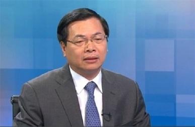Cựu Bộ trưởng Công thương Vũ Huy Hoàng. Courtesy photo.