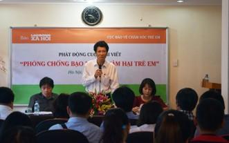Ông Nguyễn Thành Phong (người đang phát biểu). Nguồn: internet