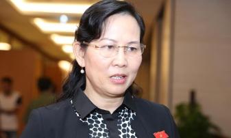 Phó Chủ nhiệm UB Kiểm tra TƯ Lê Thị Thủy. Ảnh: VNN