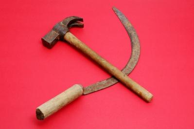 Búa, liềm, biểu tượng của Chủ nghĩa Cộng sản. Ảnh: internet