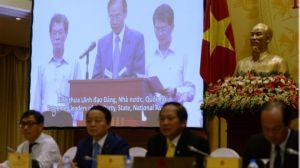 Giải quyết vụ Formosa hiện đang trở thành một vấn đề 'nan giải' cho chính quyền Việt Nam trước những bức xúc và đơn kiện của người dân địa phương. Ảnh: AFP