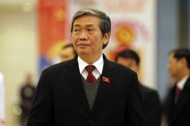 Ông Đinh Thế Huynh, Thường trực Ban Bí thư Đảng Cộng sản Việt Nam. Ảnh: AFP