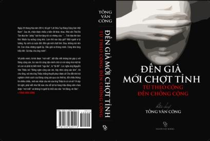 Ảnh bìa hồi ký Tống Văn Công