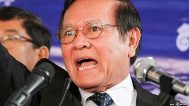 Ông Kem Sokha - Phó Chủ tịch Đảng Cứu nguy dân tộc Campuchia (CNRP) đối lập. Ảnh: Leng Len/ VOA Khmer