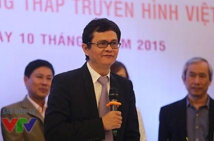 Ông Trần Bình Minh, TGĐ đài THVN. Nguồn: VTV