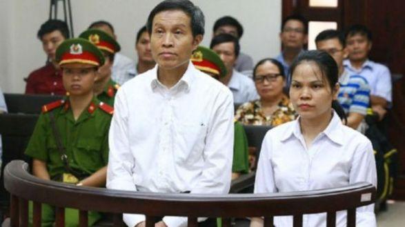 Phiên tòa xét xử Blogger Anh Ba Sàm. Getty Images