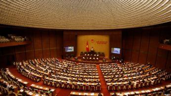 Toàn cảnh phiên khai mạc một kỳ họp của Quốc Hội Việt Nam ở Hà Nội, ngày 20/07/2016. Ảnh: