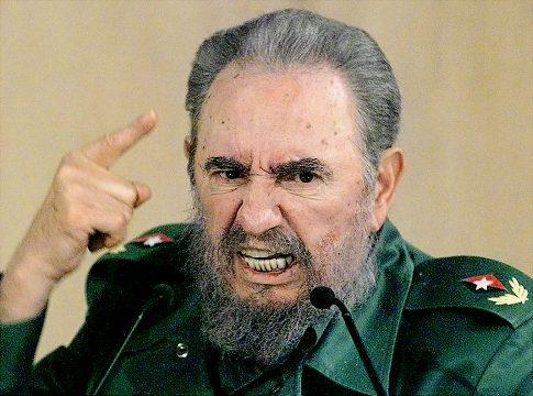 Lãnh tụ độc tài Fidel Castro, chụp ngày 4-9-1999. Nguồn: internet