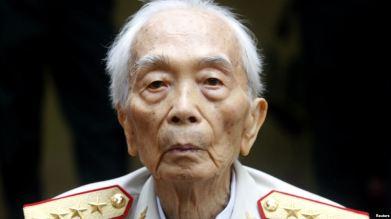 Đại tướng Võ Nguyên Giáp. Ảnh: Reuters.
