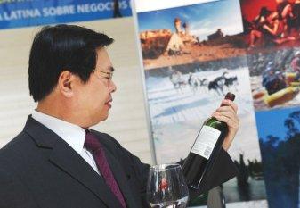 Ông Vũ Huy Hoàng khi còn đương chức bộ trưởng Công Thương. (Hình: Getty Images)