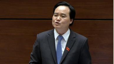 Bộ trưởng GD Phùng Xuân Nhạ. Ảnh: internet