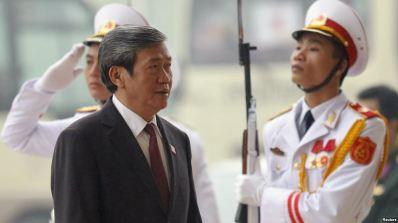 Ông Đinh Thế Huynh hiện là Ủy viên Bộ Chính trị kiêm Thường trực Ban bí thư Trung ương Đảng Cộng sản Việt Nam. Ảnh: Reuters.