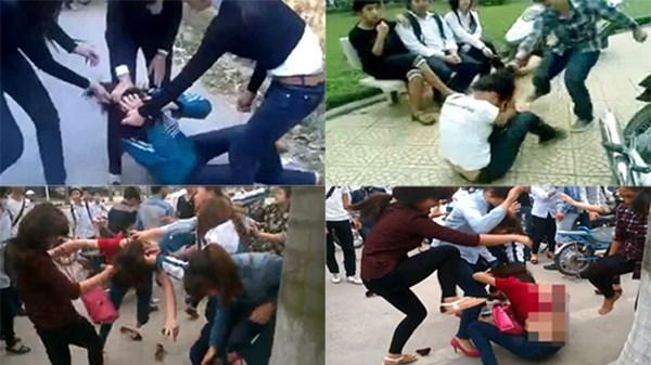Bạo lực học đường. Nguồn: internet