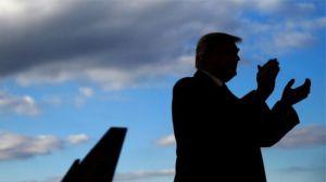 Làn sóng da trắng ủng hộ Trump. Ảnh: Reuters.