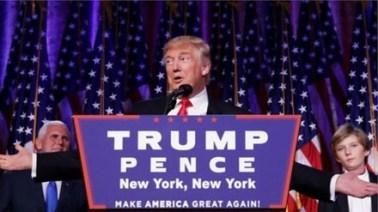 Tân tổng thống Donald Trump. Nguồn: internte