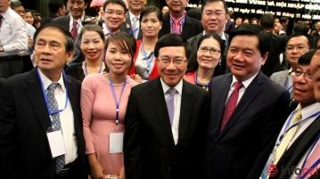 """hội nghị """"Kiều bào chung sức xây dựng Thành phố Hồ Chí Minh phát triển nhanh, bền vững và hội nhập quốc tế"""