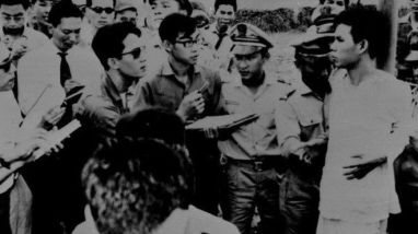Nguyễn Văn Trỗi bị xử bắn ngày 15/10/1964. Ảnh: VNA