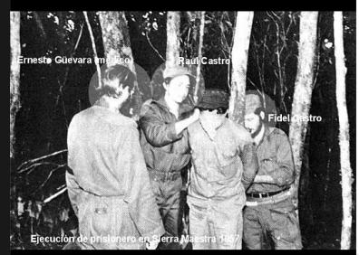 Fidel Castro, Raul Castro và Che Guevara