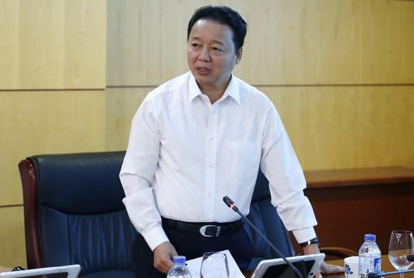 Bộ trưởng TN-MT Trần Hồng Hà. Nguồn: internet
