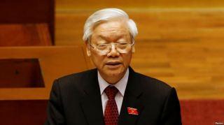 Tổng bí thư Việt Nam Nguyễn Phú Trọng. Ảnh: Reuters.
