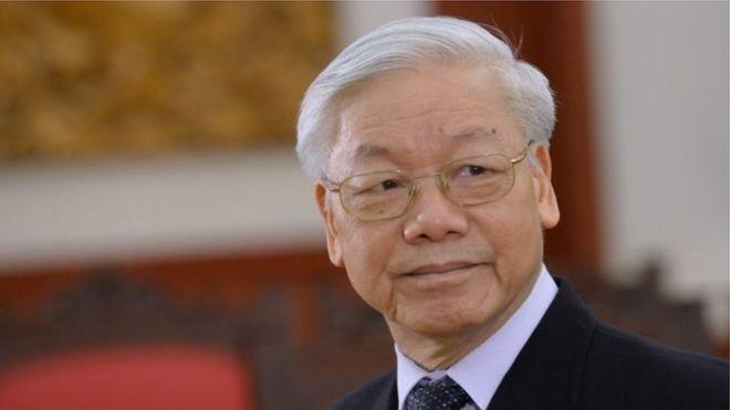 GS Nguyễn Phú Trọng luôn đề cao công tác 'xây dựng Đảng'. Photo: Hoang Dinh Nam