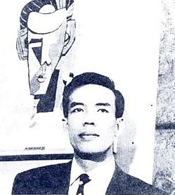 Hình 1: Mai Thảo và ký họa của Tạ Tỵ. Nguồn: E.E - Emprunct Empreinte