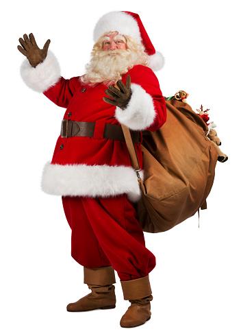 Ông già Noel mang quà tới cho trẻ em. Nguồn: internet