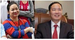 Nguyễn Thanh Phượng (trái) và Lê Nam Trà. Ảnh: internet