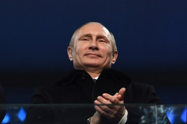 Tổng Thống Vladimir Putin của Nga. (Hình: Pascal Le Segretain/Getty Images)