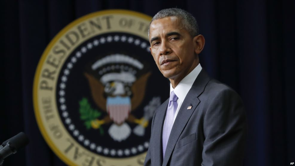 Tổng thống Hoa Kỳ Barack Obama. Ảnh: AP