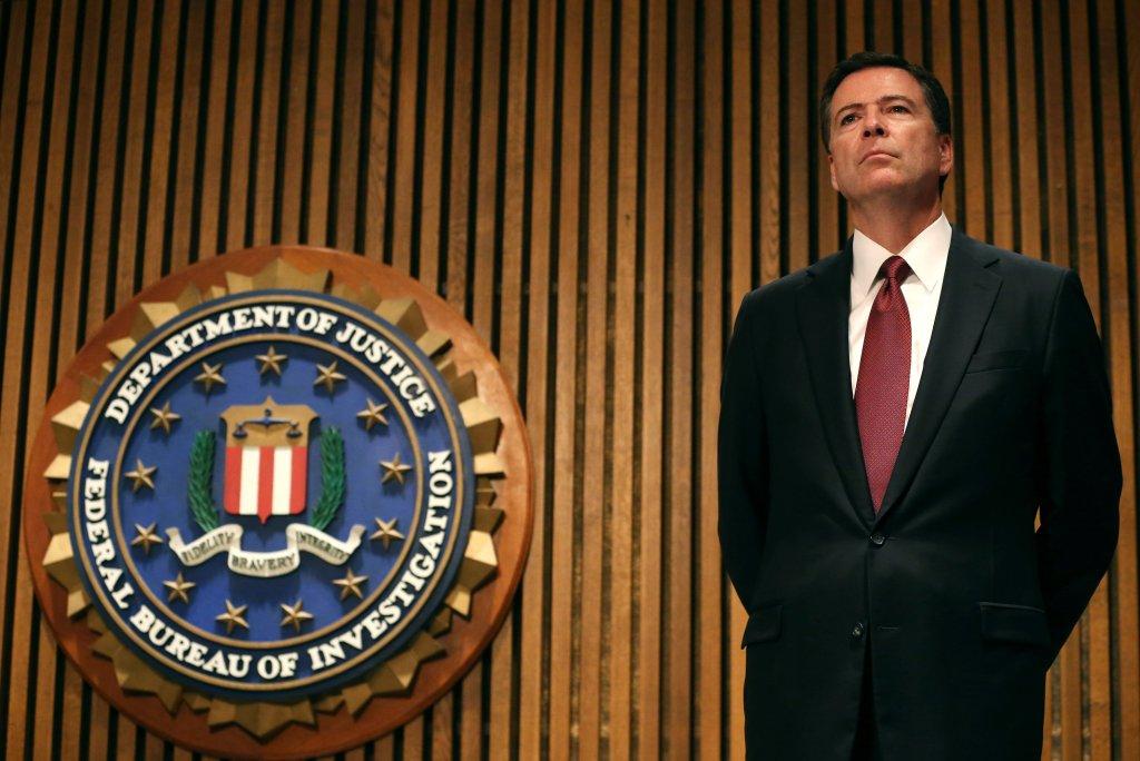 Ông James Comey, giám đốc FBI. (Hình: Mark Wilson/Getty Images)
