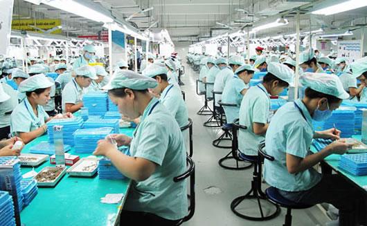 Kinh tế VN chủ yếu là gia công, xuất khẩu lao động giá rẻ. Nguồn: internet