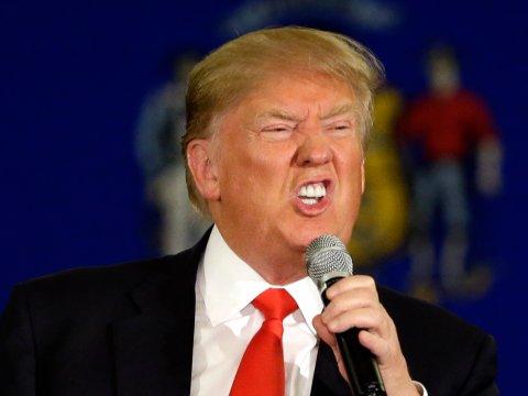 Donald Trump. Nguồn: internet