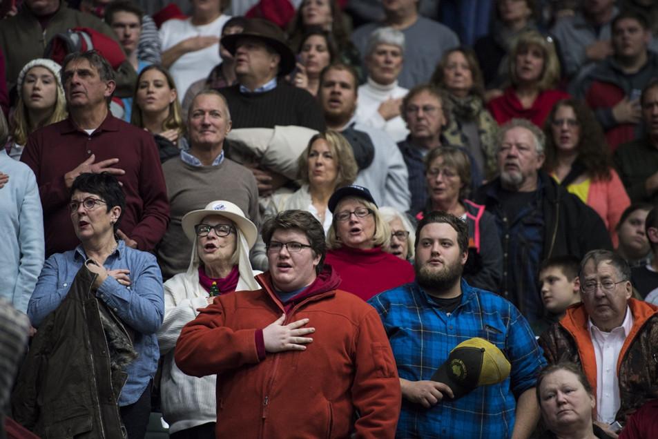 Những người ủng hộ Trump. Nguồn: Jabin Botsford/The Washington Post