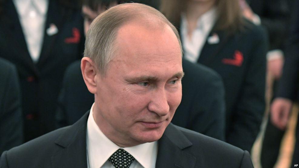 Tổng thống Nga Vladimir Putin. (Ảnh tư liệu). Nguồn: AP