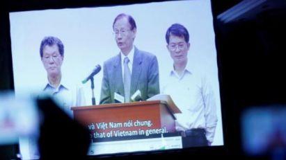 Người đứng đầu Formosa Hà Tĩnh đã chính thức nhận lỗi và xin lỗi người dân và Nhà nước Việt Nam vì họ là thủ phạm gây ra hiện tượng cá chết ở miền Trung. Nguồn: Reuters.