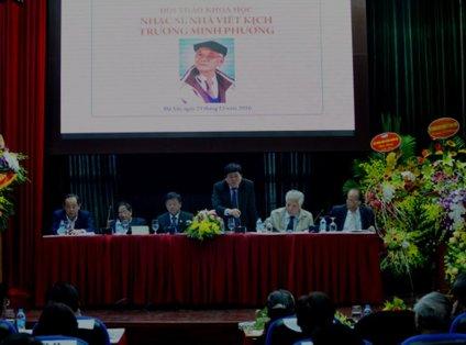 """Hội thảo khoa học"""" về ông Trương Minh Phương. (Hình: VietNamNet)"""