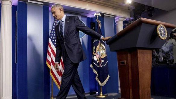 Ông Barack Obama sắp mãn nhiệm tổng thống Hoa Kỳ. Ảnh: AP