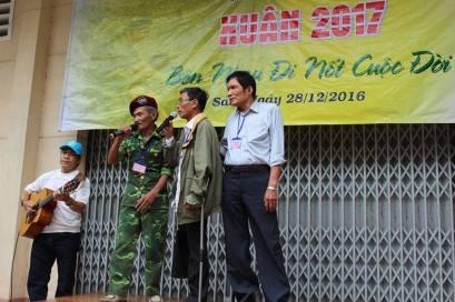 Chương trình tri ân thương phế binh VNCH. Ảnh: Lê Văn Sơn