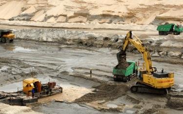 Dự án khai thác mỏ sắt Thạch Khê đang gặp nhiều khó khăn do thiếu vốn. Nguồn: Internet