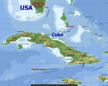 Đất nước Cuba.