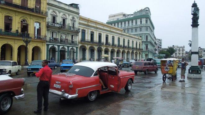 Phố cổ Havana. Ảnh: Bùi Văn Phú