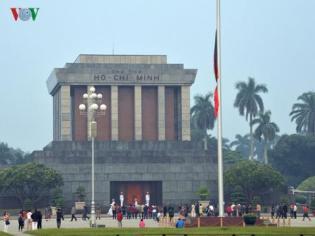 Lăng ông Hồ Chí Minh ở Hà Nội. Ảnh: internet